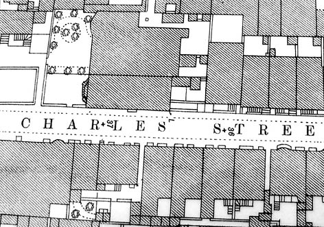 OS map of Brighton, 1875. Image courtesy of the Royal Pavilion, Libraries and Museums, Brighton and Hove