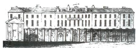 Print of the Brighton Workhouse